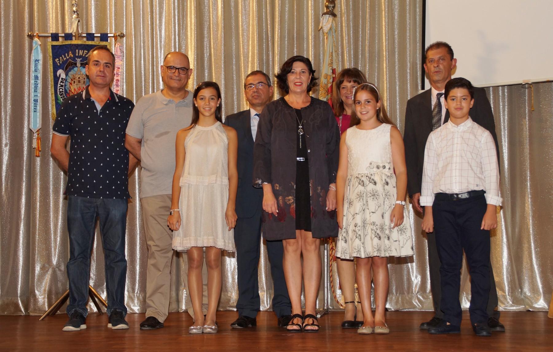 Presentación Logo 50 aniversario infantil Falla Manuel Candela Avd del Puerto