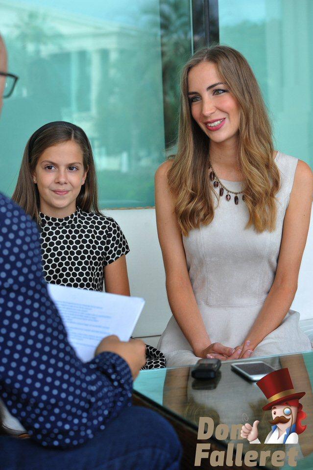 Entrevistas a las Falleras Mayores de Valencia 2017 Don Falleret